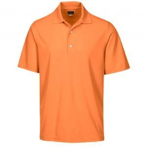 NWT Greg Norman orange polo shirt
